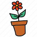 beauty, cute, eco, flower, nature, plant icon