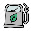 eco, efficient, friendly, gas, nature, preserve, reduce icon