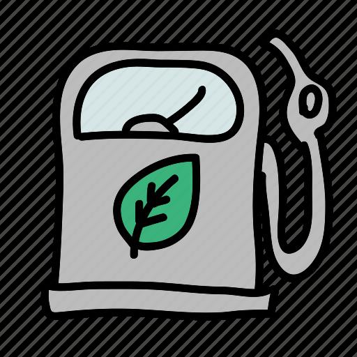 eco, efficient, friendly, gas, nature, preserve, reduce icon