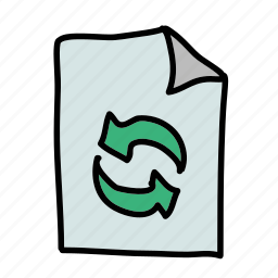 eco, nature, paper, preserve, recycle, reduce, reuse icon