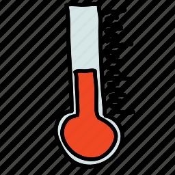 eco, nature, summer, temperature, thermometer, winter icon