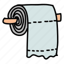 bathroom, eco, guardar, paper, preserve, save, toilet icon