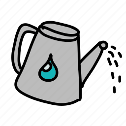 can, drop, eco, nature, plants, water, watering icon