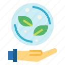 ecology, nature, sprout, tree icon