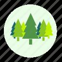 forest, trees, botany, plant, ecology, eco, tree, environment icon