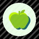ecofarm, apple, food, healthy, fruit, eating, meal icon