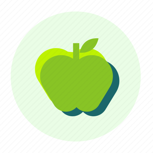 apple, eating, ecofarm, food, fruit, healthy, meal icon