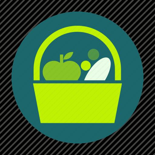 ecofarm, food, fruit, healthy, meal, picnic, vegetable icon