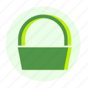 bag, basket, buy, cart, ecofarm, shop, shopping icon
