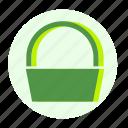 ecofarm, shop, basket, bag, buy, shopping, cart icon