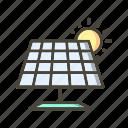 energy, power, solar energy icon