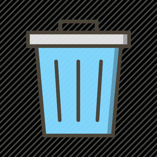 dust bin, garbage, recycle bin, trash icon