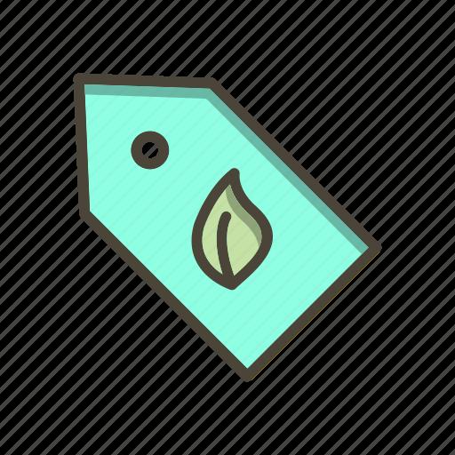 eco label, label, price, tag icon