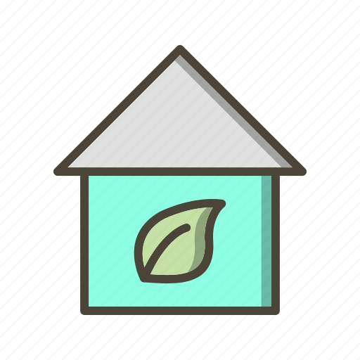 eco home, ecology, home, house icon