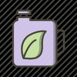 eco fuel, oil icon