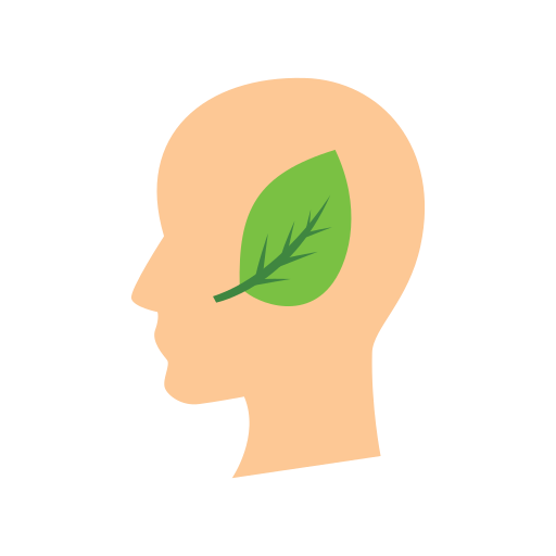 eco, head, mind icon