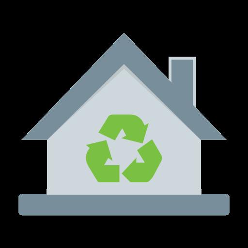 eco, home, waste icon