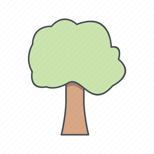 forest, nature, tree icon