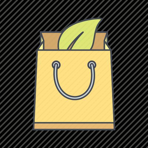 bag, eco, recycle, reusable icon