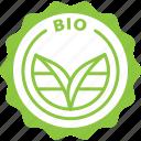 bio, label, natural, organic, tag icon