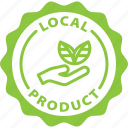 bio, farm food, food, label, local, local product, product icon