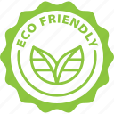 eco, eco friendly, friendly, label icon