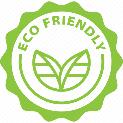 Eco, Eco Friendly, Friendly, Label Icon