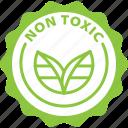 label, non toxic, bio, eco, tag icon