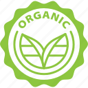 label, organic, bio, tag icon