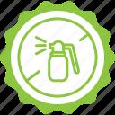 bio, label, pesticide free, tag icon