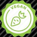 label, vegan, eco, healthy, tag