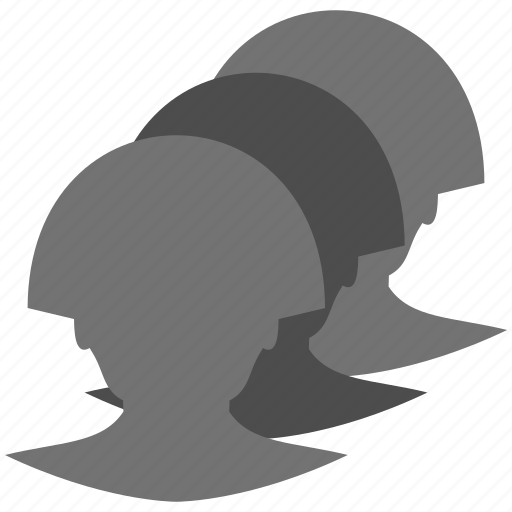 avatar, heads, people, persons, profile, users icon