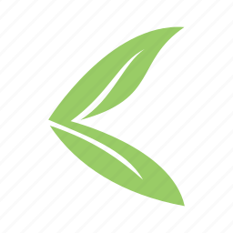 arrow, arrow left, eco, left icon
