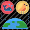 area, biology, ecology, habitat, house icon