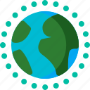 air, earth, eco, ecology, ozone, pollution icon