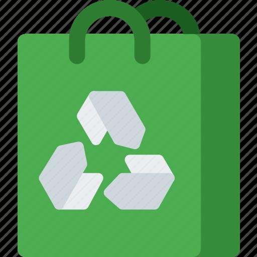 bag, eco, ecology, ecommerce, nature, paper, shopping icon