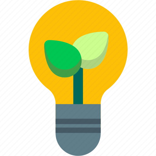 bulb, charge, ecology, electric, electricity, energy, light icon