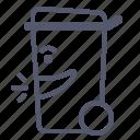 bin, deposit, recycle, trash