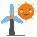 aeolian, electricity, energy, renewable, sun, wind