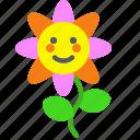 flower, garden, gift, plant, sun icon