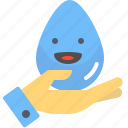 crystal, filter, handrop, pure, safety, water icon