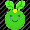 bio, eco, happy, leaf, smile
