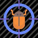 bug, exterminate, target, virus