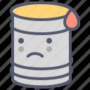 barrel, danger, diesel, gasoline, poison icon