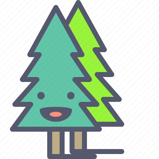 Christmas, forest, trees, winter icon - Download on Iconfinder