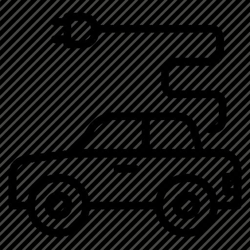 car, eco, ecology, electric, transportation icon