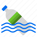 bottom, garbage, plastic, pollution, water icon