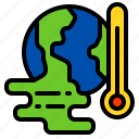climate, environment, global, pollution, warming icon