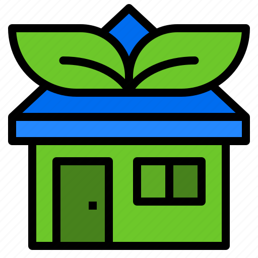 design, ecology, green, home, house icon