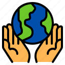 ecology, environment, hand, planet, save